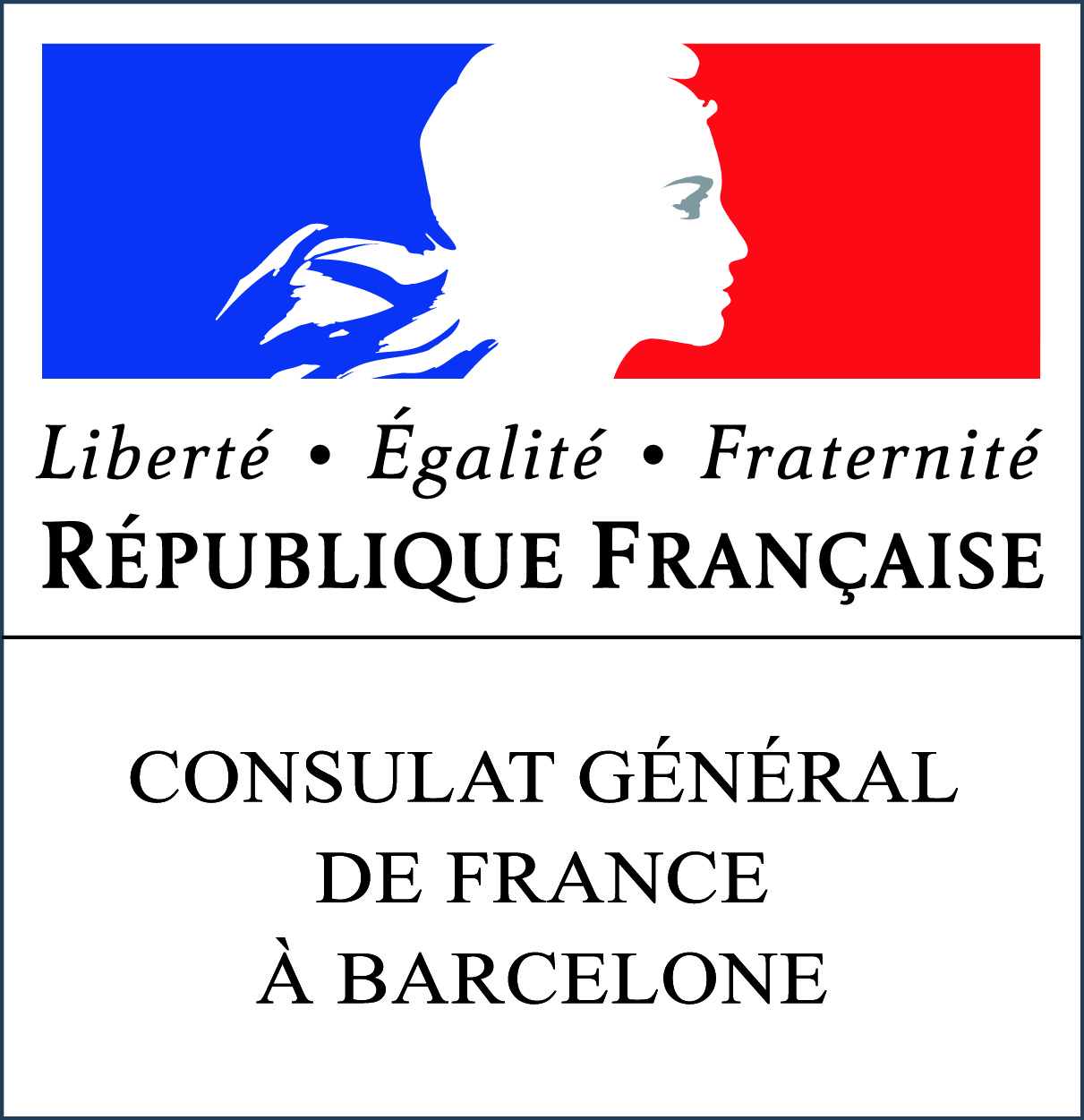 logo consulat france a barcelone